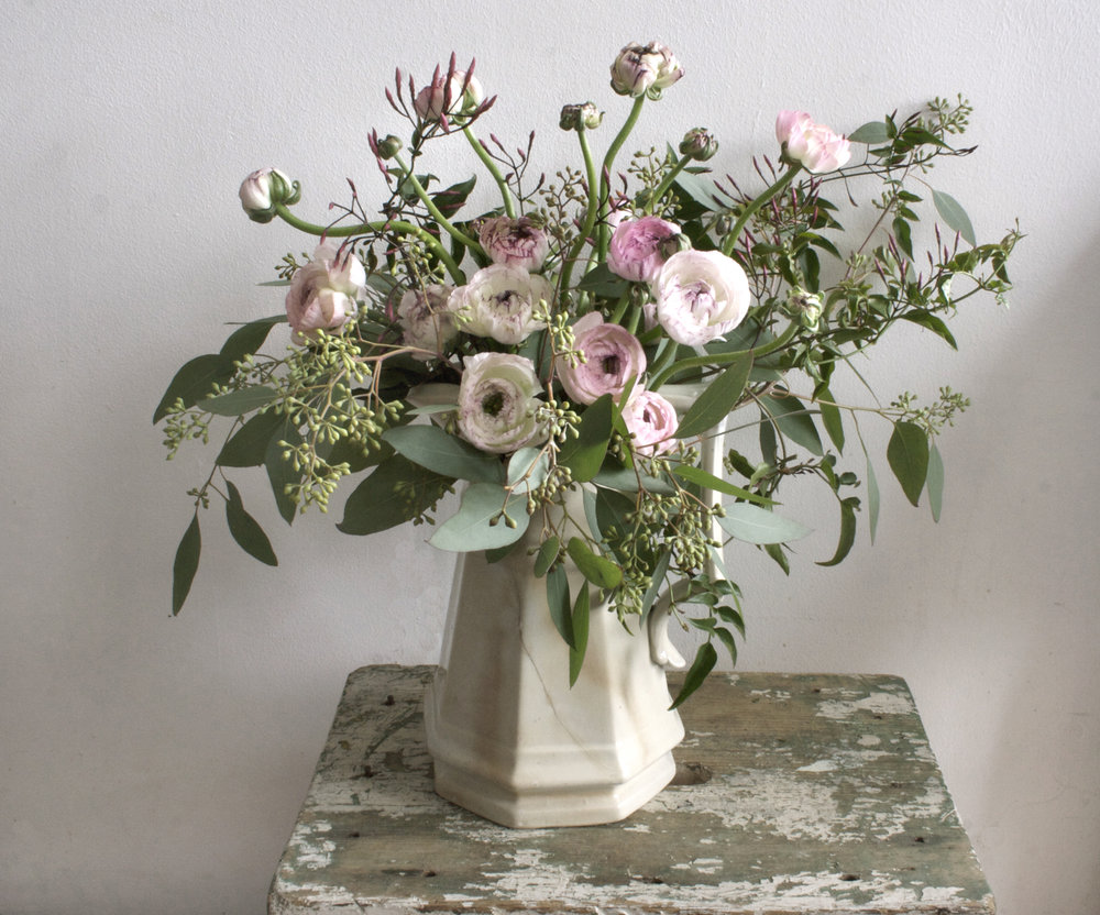 The Wedding Artists Collective - Ariel Dearie Floral Design - Pink Ranunculus-1